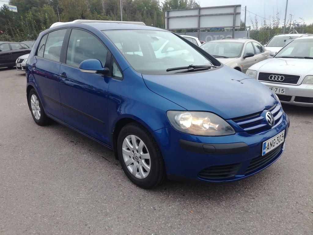 Volkswagen Golf Plus 1.6 FSI,  1-omisteinen Suomi-auto,  Siisti,  Rahoitus jopa ilman käsirahaa!!
