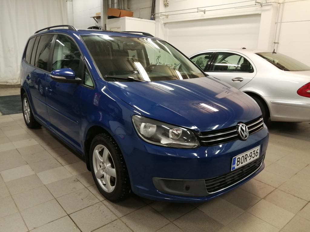 Volkswagen Touran Comfortline 1, 4 TSI 103 kW (140 hv),  7-paikkainen,  Automaatti,  Rahoitus jopa ilman käsirahaa!!