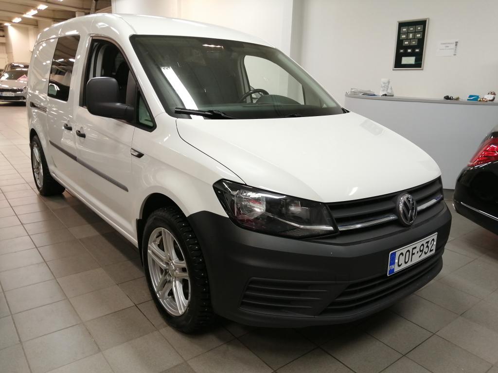 Volkswagen Caddy 2.0 TDI 75kW DSG,  Automaatti,  Hinta sis.ALV!!