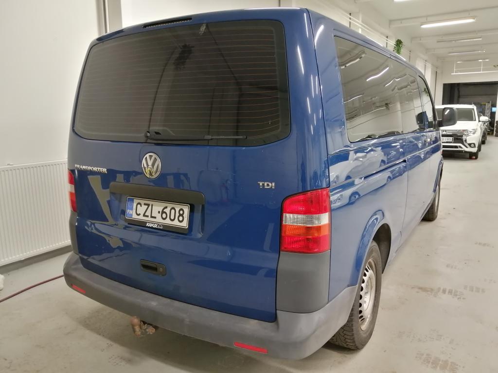 Volkswagen Transporter 2.5 TDI,  9-paikkainen,  Rahoitus jopa ilman käsirahaa!!