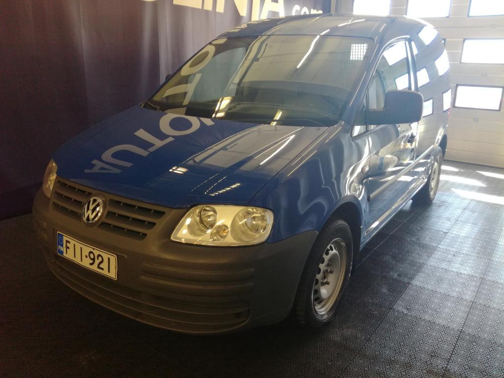 Volkswagen Caddy 2.0,  Webasto,  Ilmastointi,  Hinta sis. ALV,  Rahoitus jopa ilman käsirahaa!!