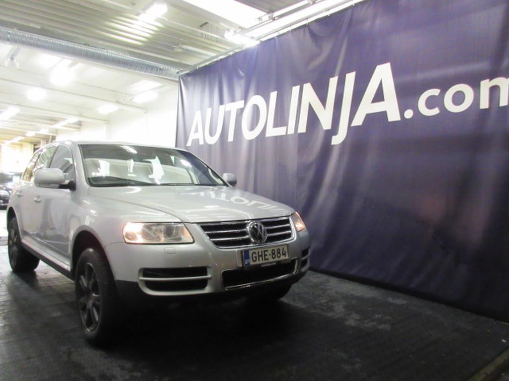 Volkswagen Touareg 5.0TDi V10 Automaatti 4x4,  Siistikuntoinen,  Nahkasisusta,  Ilmastointi,  Rahoitus jopa 0% käsirahalla!!