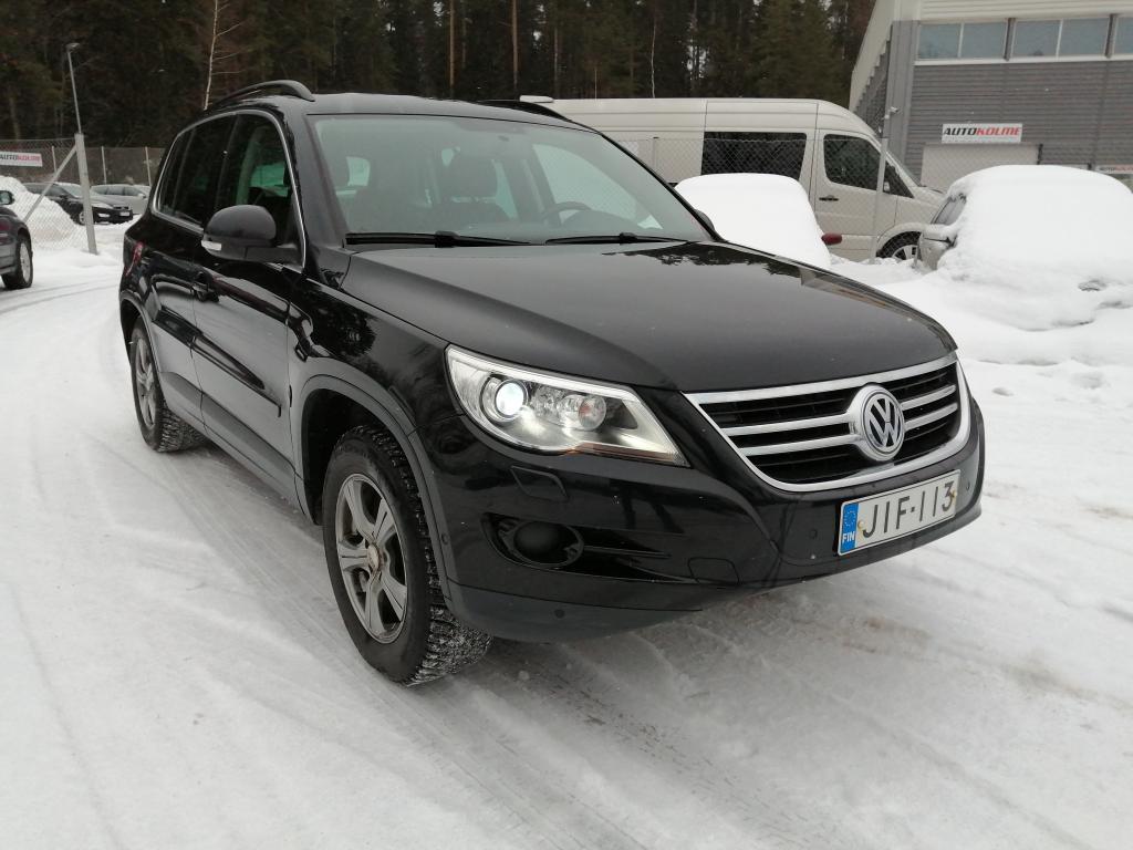 Volkswagen Tiguan Track & Field 2, 0 TDI 103 kW,  Tiptronic-autom. 4MOTION,  Suomi-auto,  Rahoitus jopa ilman käsirahaa!!