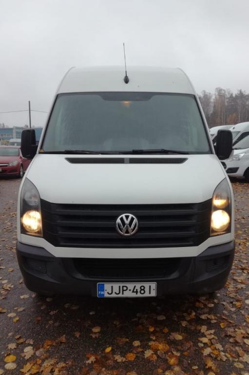 Volkswagen Crafter 2.0,  Hinta sis. ALV,  Rahoitus jopa ilman käsirahaa!!