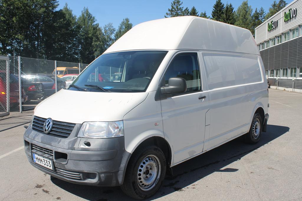 Volkswagen Transporter 2.5 TDI 96kw,  Pitkä ja korkea,  Webasto,  Rahoitus jopa 0% käsirahalla,  Hinta sis.ALV!!