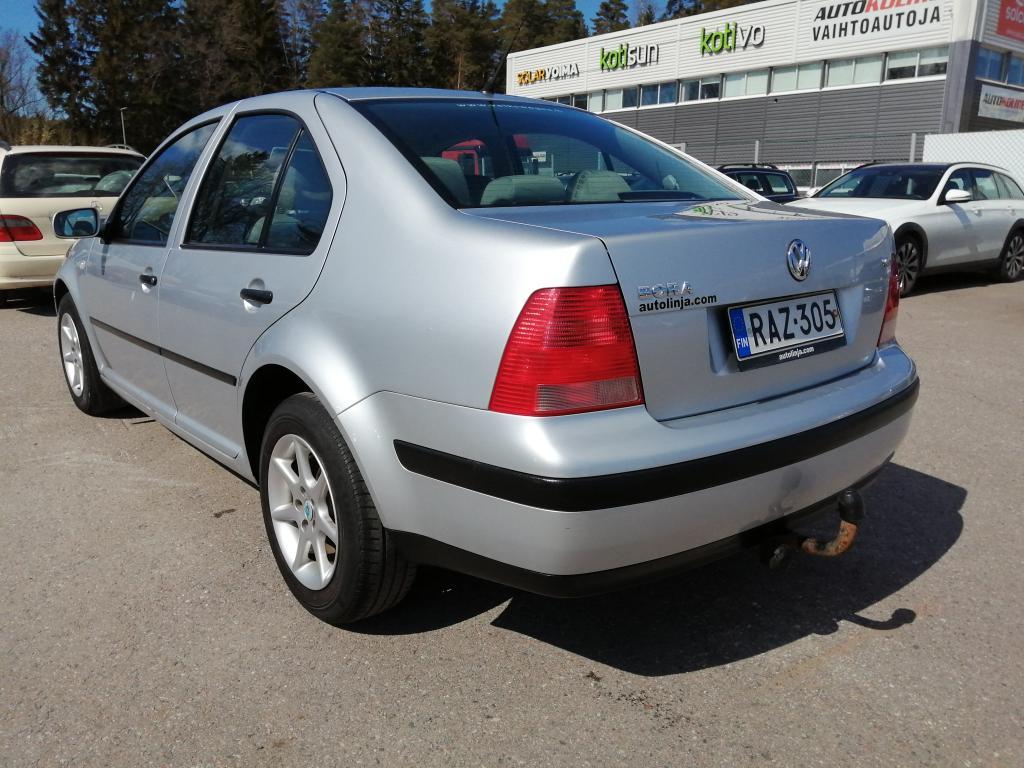 Volkswagen Bora 1.6i,  Ilmastointi,  Suomi-auto,  Rahoitus jopa ilman käsirahaa!!