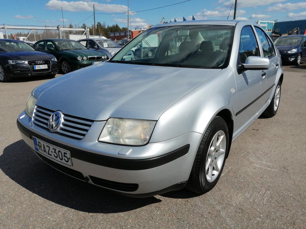 Volkswagen Bora 1.6i, Suomi-auto,  Rahoitus jopa ilman käsirahaa!!