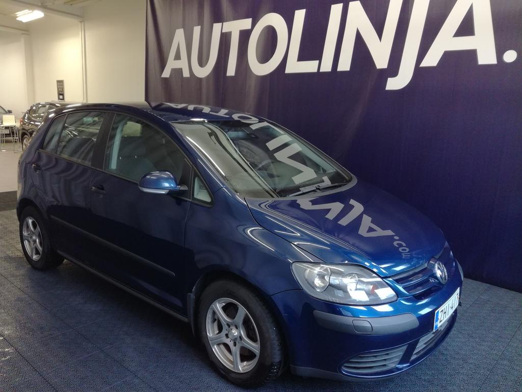 Volkswagen Golf Plus 1.6FSI,  Suomi-auto,  Rahoitus jopa ilman käsirahaa!!