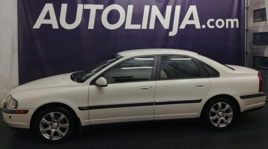 Volvo S80 2.4,  1-omisteinen,  Siisti,  Rahoitus jopa ilman käsirahaa!!
