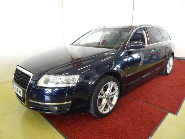 Audi A6 3, 0 TDI 165 kW quattro tiptronic-automaatti *Suomiauto*Hyvät varusteet*