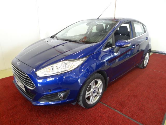 Ford Fiesta 1, 0 EcoBoost 100hv PowerShift Titanium A6 5-ovinen *1-Omistaja*Ajettu vain 26tkm*Automaatti*