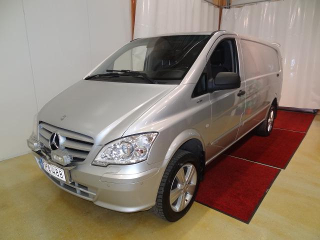 Mercedes-Benz Vito 116CDI pitkä A3 4x4 Aut. *Suomiauto*Huippuvarusteet*