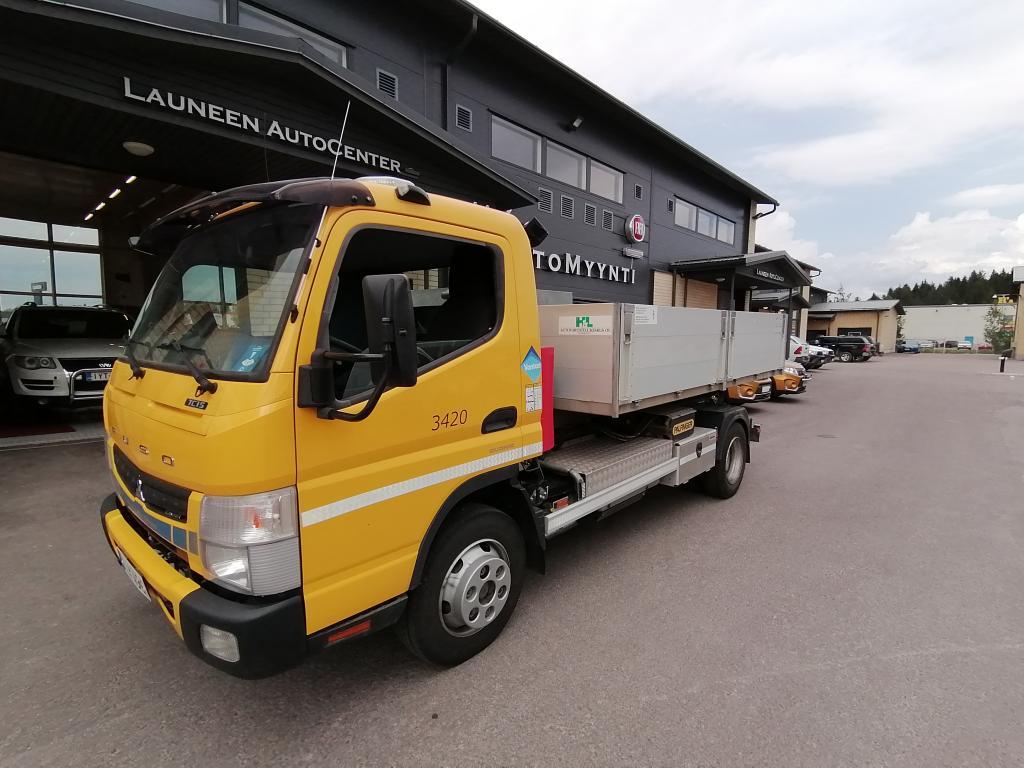 Mitsubishi Fuso Canter Koukkulavakuorma-auto 2998cm3 Automatic EcoHybrid *Sis.ALV*Ajettu vain 28tkm*