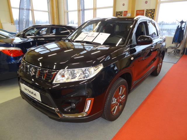 Suzuki Vitara 112 BOOSTERJET 4WD GL+ 5MT *UUSI, NOPEAAN TOIMITUKSEEN*VARASTOSSA OLEVA REKISTERÖIMÄTÖN AUTO*Pihassa myös muita värejä*