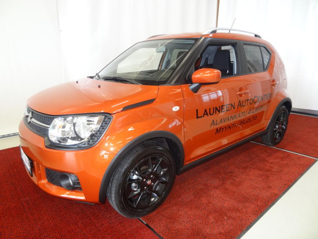 Suzuki IGNIS 1.2 DUALJET 4WD GL 5MT *Esittelyauto käytössä*