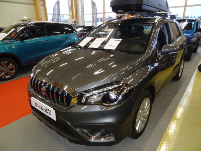Suzuki SX4 S-Cross 112 BOOSTERJET 4WD GL+ *Uusi ajamaton auto*Nopeaan toimitukseen*Talvirengaspaketti tähän autoon kaupan päälle*