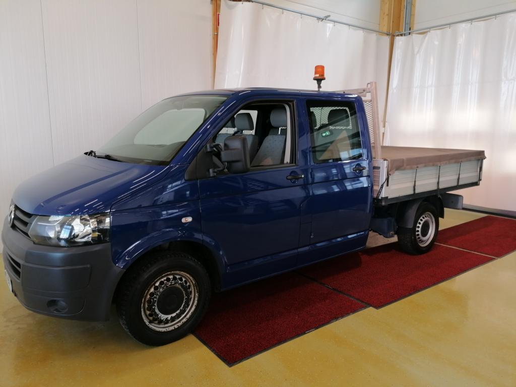 Volkswagen Transporter Doppeli / takaistuimilla pitkä 2, 0 TDI 75 kW *Sis.ALV*Rek.6-henk*