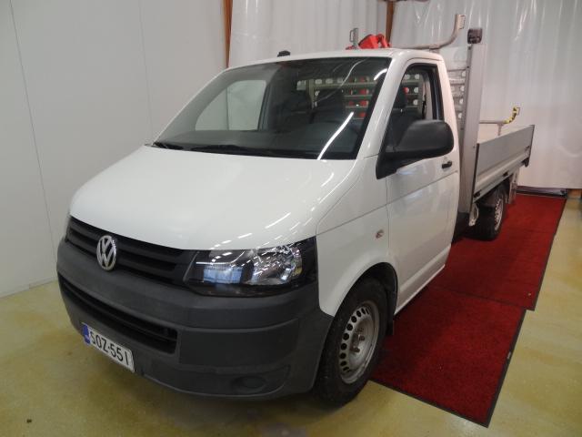 Volkswagen Transporter Lava-auto pitkä 2, 0 TDI 105 kW 3200 kg *Sis.ALV*Ferrari Hiab-nosturi*