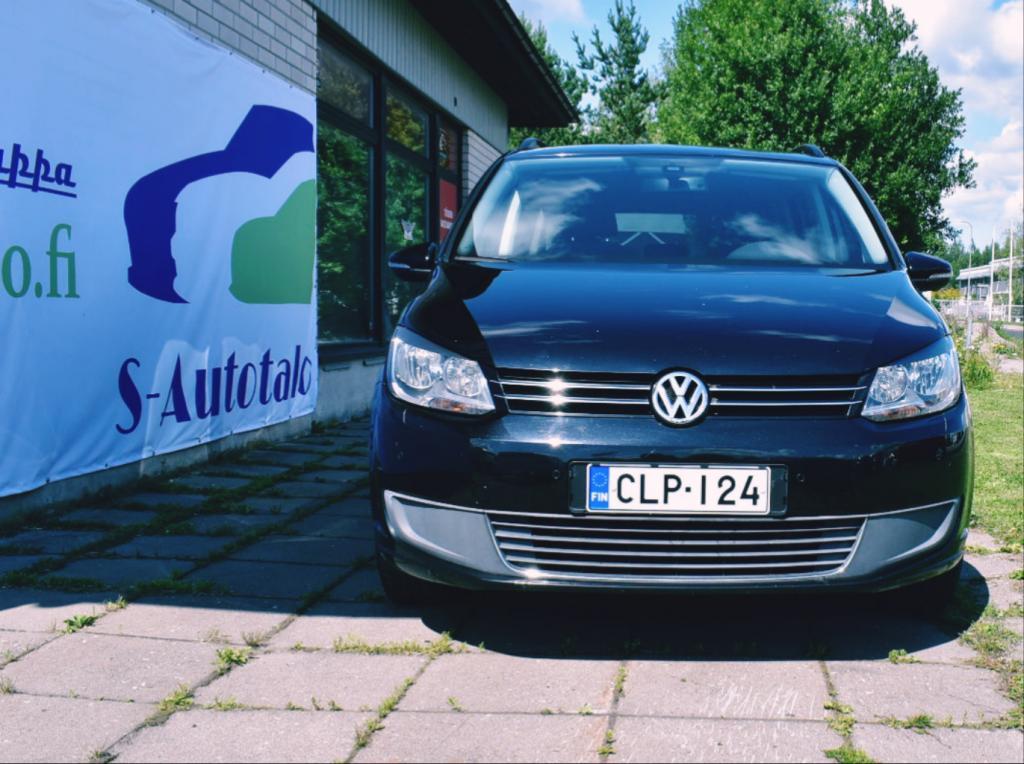 Volkswagen Touran Comfortline 1, 4 TSI EcoFuel Bensiini/Kaasu  110 kW (150 hv) DSG-automaatti
