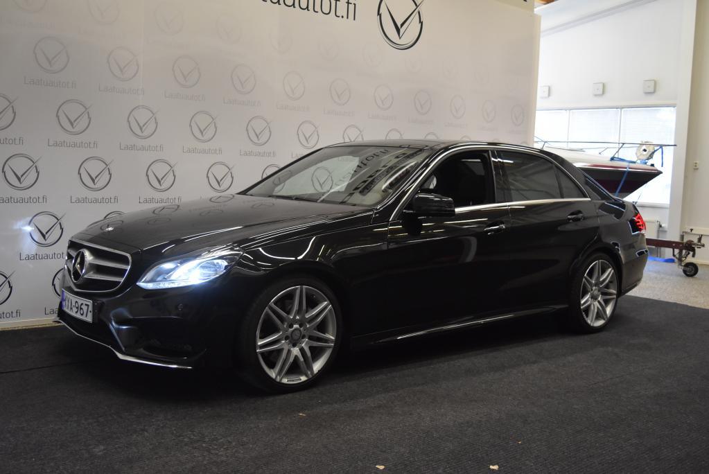 Mercedes-Benz E AMG-styling, 350 BLUETEC, AMG Sisäpaketti, AMG ulkopaketti, 9G-Tronic, Panoramakatto, 252 hv