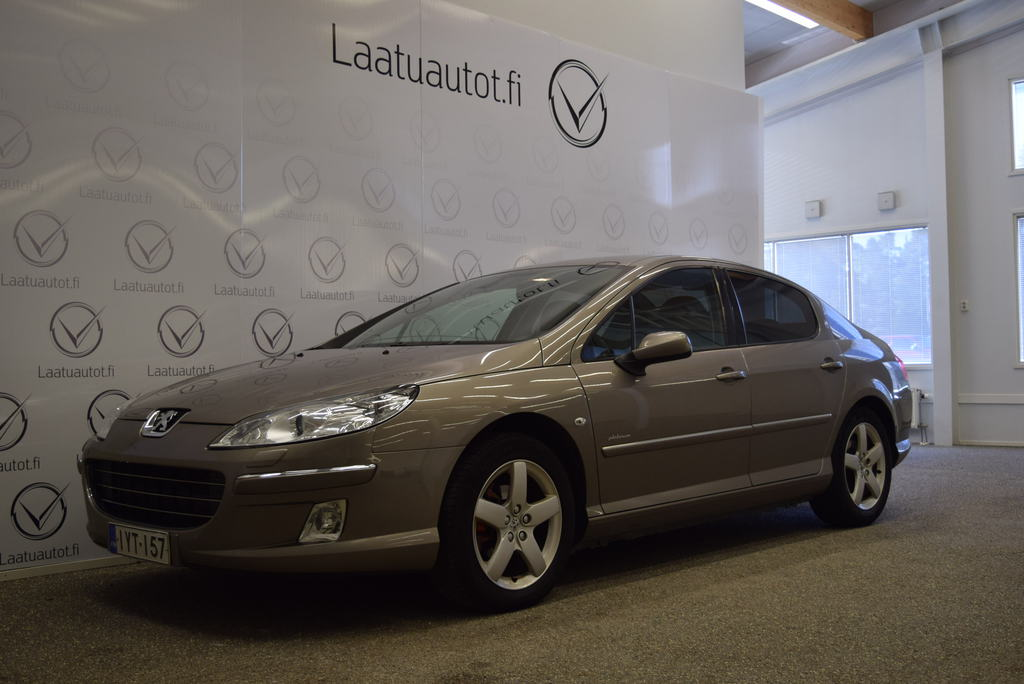 Peugeot 407 Premium HDi 136 FAP Automaatti Business