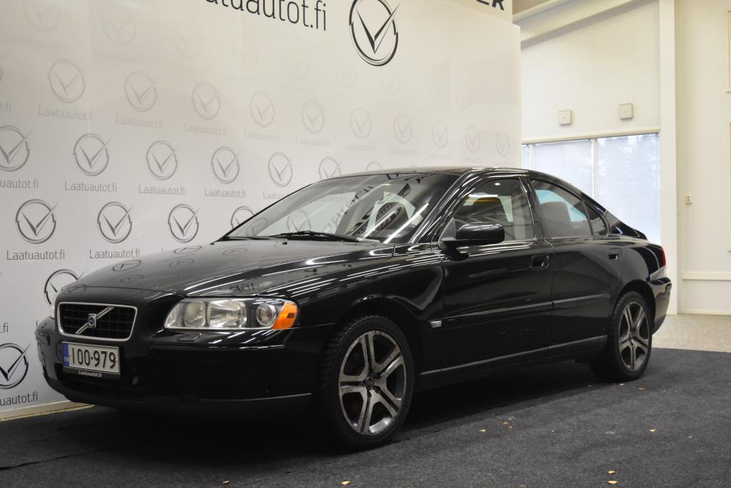 Volvo S60 2, 4 Bi-Fuel Kinetic aut (kaasu/Bensiini)