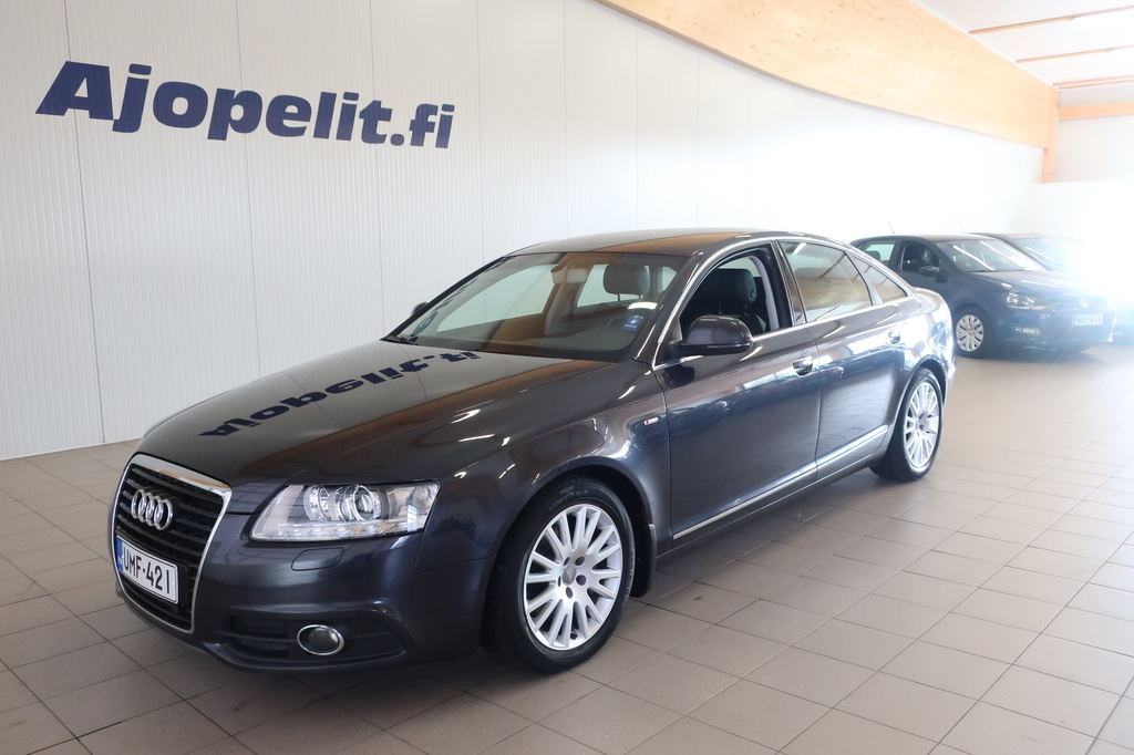 Audi A6, 2, 0 TDI 125 kw Multitronic S-Line Business