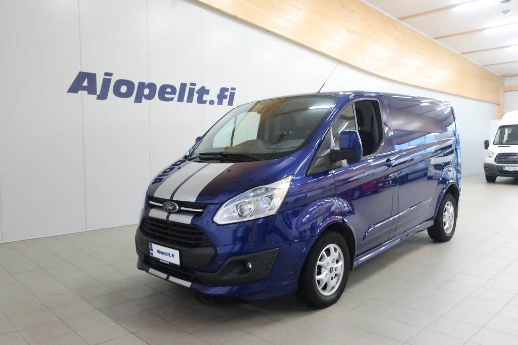Ford Transit Custom, 2, 2 TDCi 155 hv Sport Edition