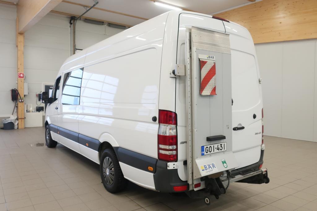 Mercedes-Benz Sprinter, 316 CDi A3 Aut 3+3 kevyt k-auto + Perälautanostin (Bär 500 kg)