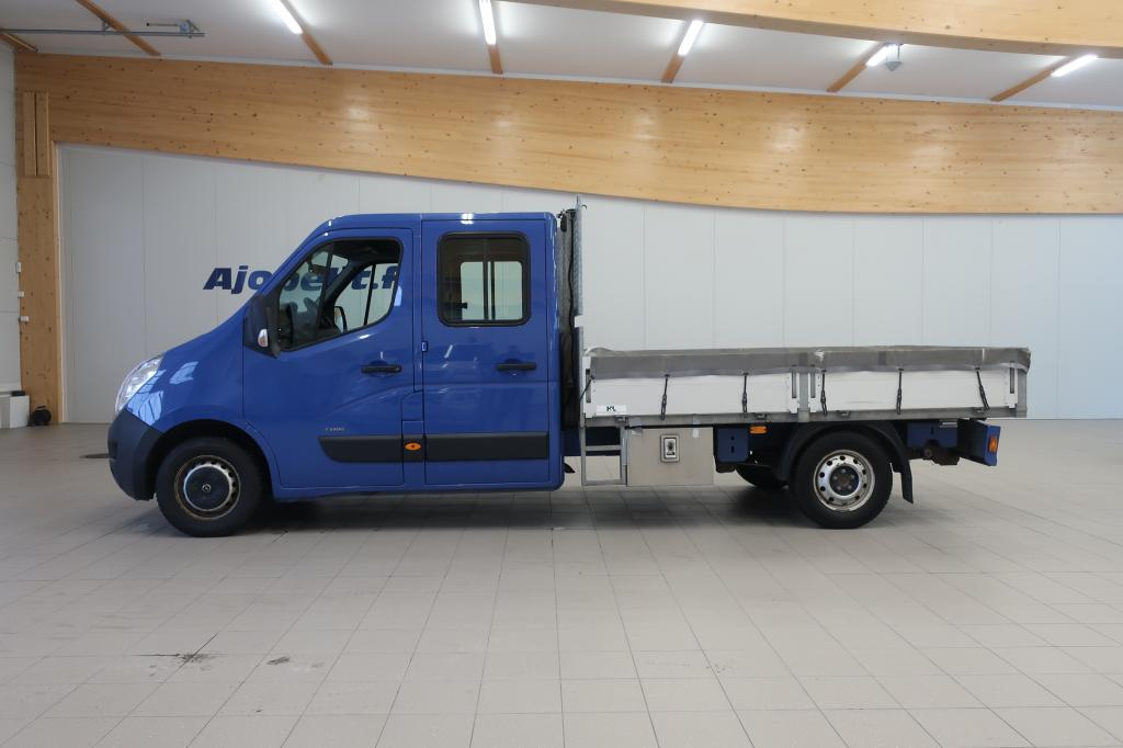 Opel Movano, Jatko-ohjaamo L3H1 (3, 50t) 2.3 CDTI 92kW MT6 Etuveto 7-henk