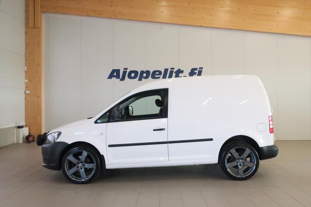 Volkswagen Caddy, 2.0 Kaasu/Bensa EcoFuel