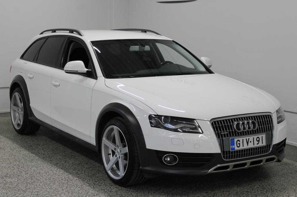 Audi A4 Allroad 2.0 TDI Quattro *WEBASTO* Korko 1, 99%+kulut*