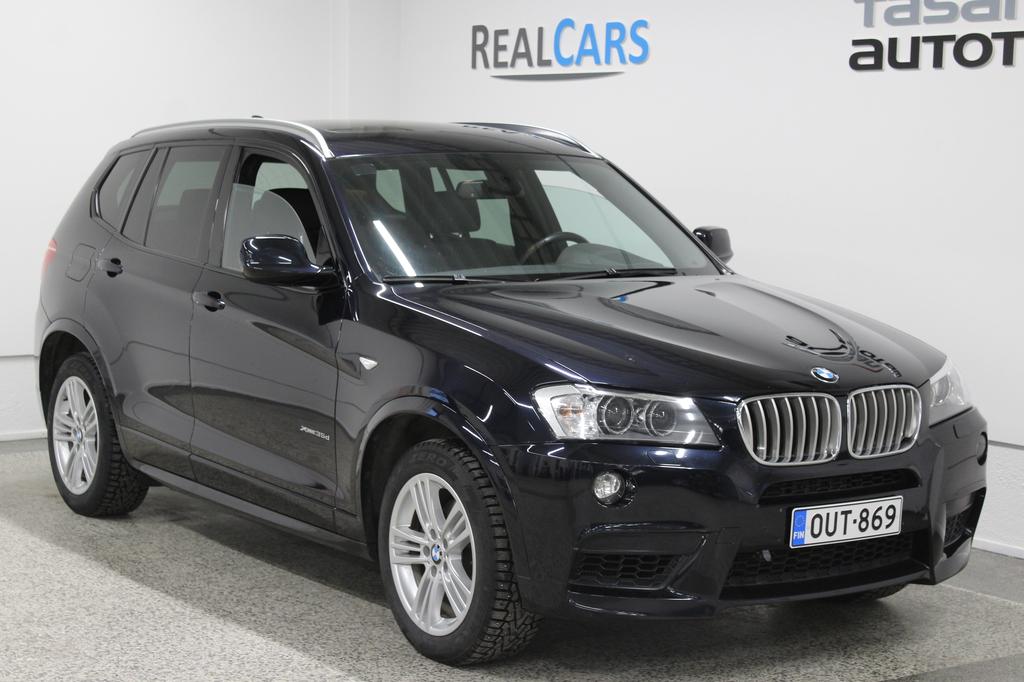 BMW X3 35d M-Paketilla + huippuvarusteet *Vaihto / Rahoitus*