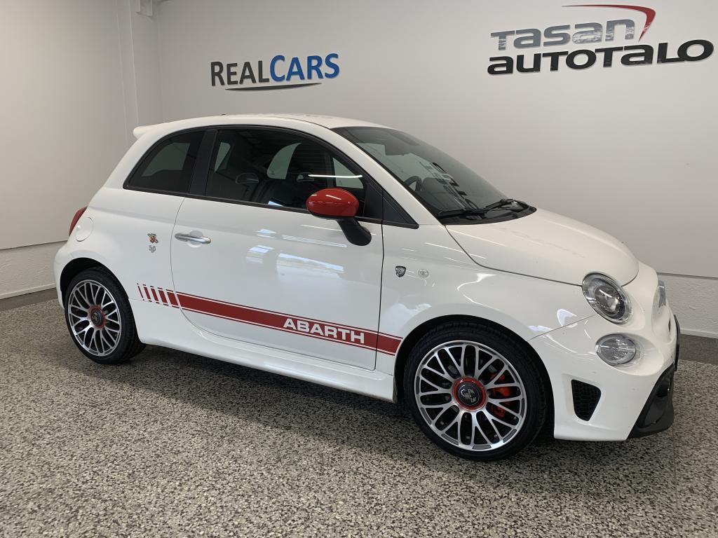 Fiat-Abarth 500 595 E6D 145hk 1.4T *UUSI rekisteröimätön heti toimitus*Navi*Autom.ilmastointi*