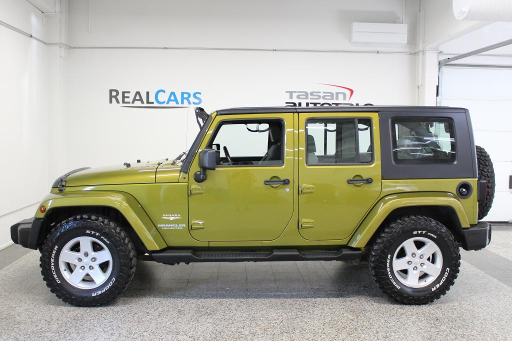 Jeep Wrangler Rims And Tire Packages >> Jeep Wrangler Unlimited 3 8 V6 A4 Sport Huippuhieno