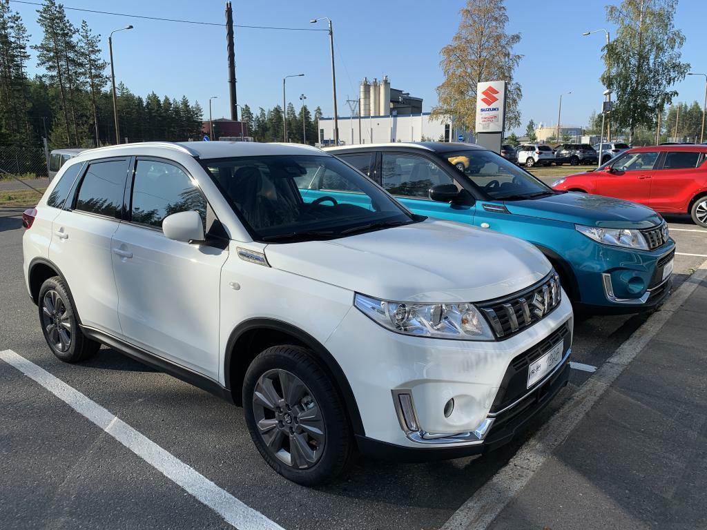 Suzuki VITARA 112 BOOSTERJET 4WD GL+ 5MT korko 0, 99%+kulut
