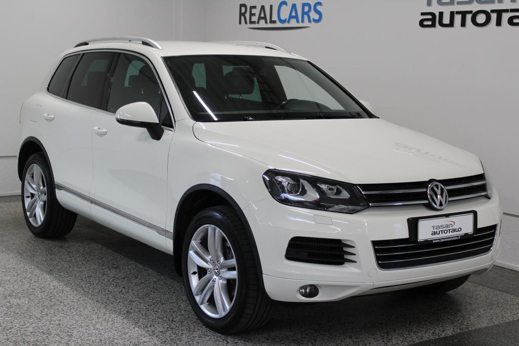 Volkswagen Touareg 3, 0 V6 TDI 176 4MOTION BlueMot Tech A *WEBASTO*NAHAT*KOUKKU* korko 1, 99% + kulut