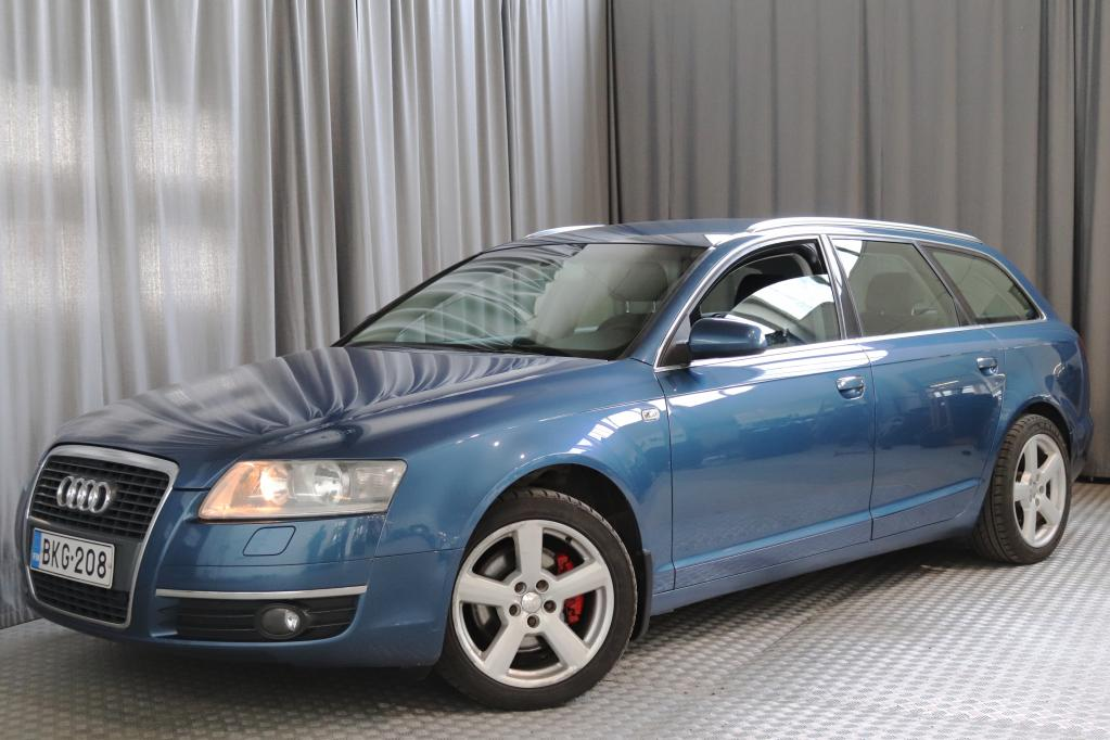 Audi A6 Avant 2, 4 V6 130 kW multitronic-aut.,  SUOMI-AUTO!