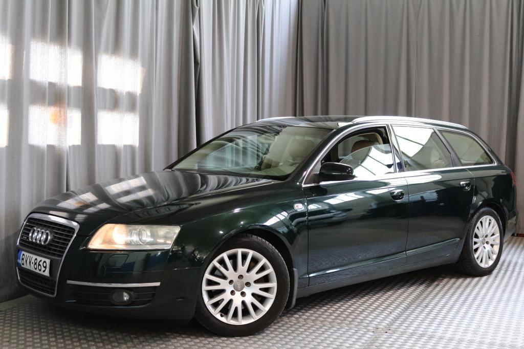 Audi A6 Avant 3, 2 FSI 188 kW quattro tiptronic-aut.,  VARUSTELTU!