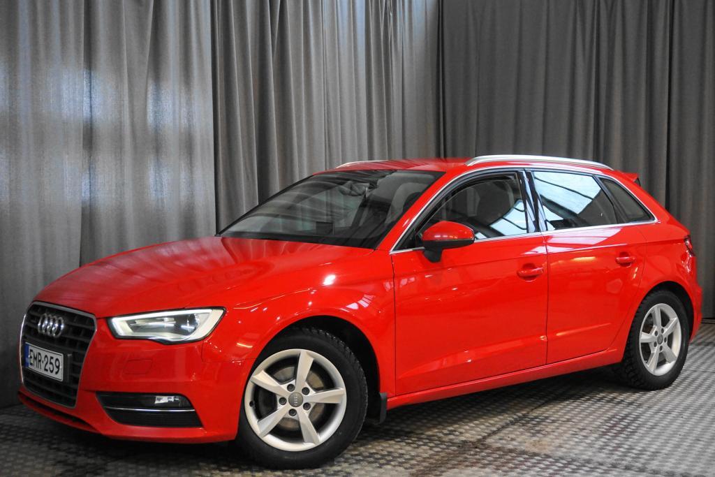 Audi A3 Sportback Business Sport 2, 0 TDI 110 kW quattro,  1-OMISTAJA!