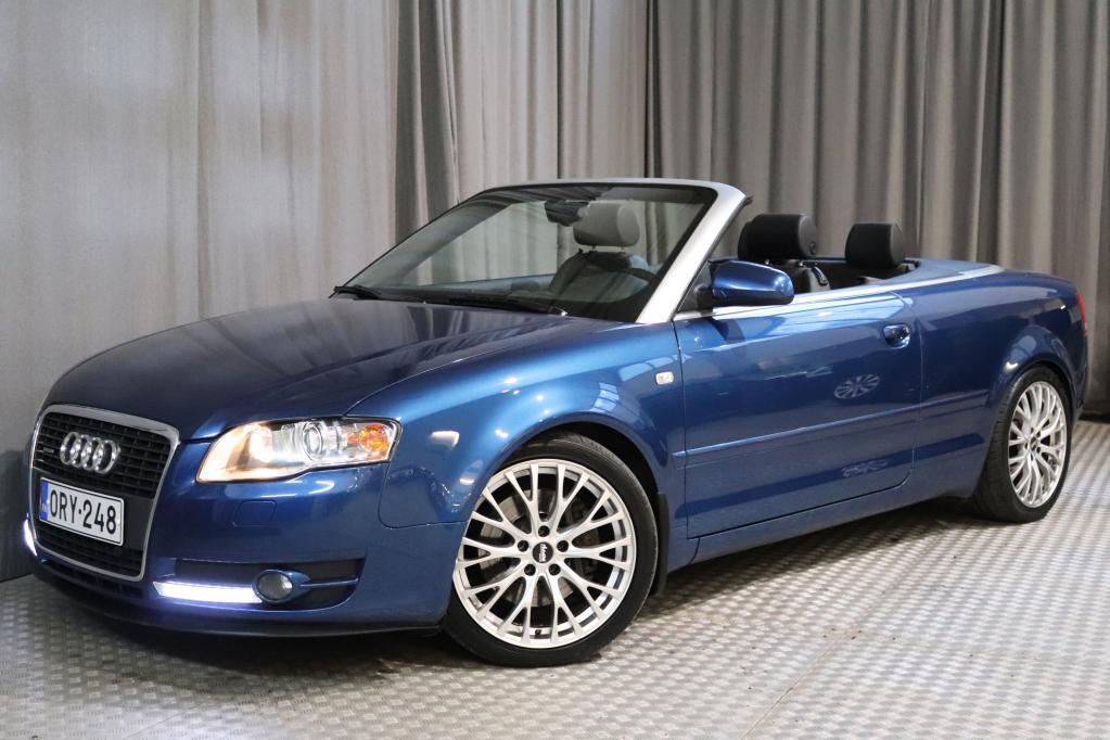 Audi A4 Cabriolet 3, 2 188 kW quattro,  VARUSTELTU SUOMI-AUTO!