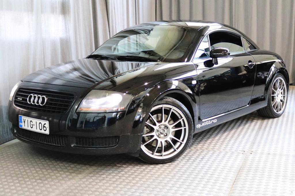 Audi TT Coupe 1, 8 T 165 kW quattro,  HIENO!