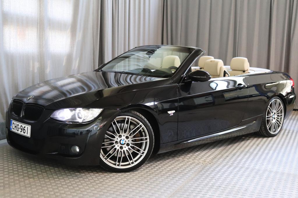 BMW 335 iA E93 Cabrio M-Sport,  HUIPPUVARUSTEET!