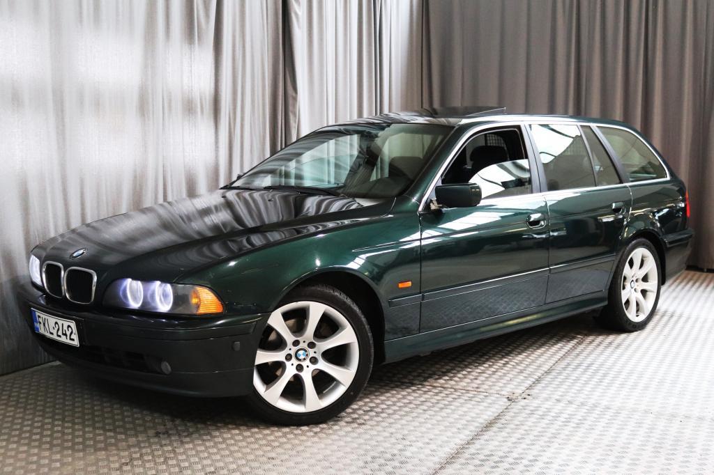 BMW 525 dA Touring,  HYVÄT VARUSTEET!