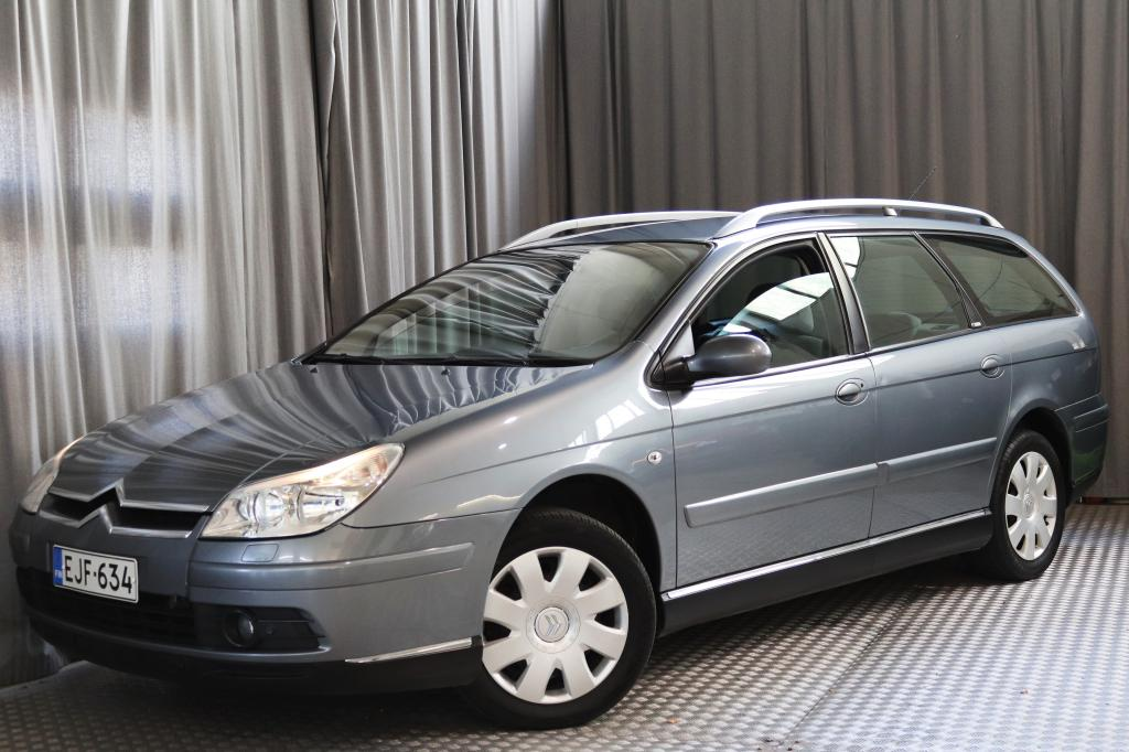 Citroen C5 2, 0i 16v Exclusive Break Autom.,  VARUSTELTU,  SIISTI!