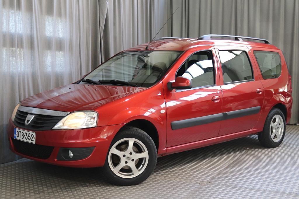 Dacia Logan MCV 1, 6 16V Hi-Flex 7p Laureate,  EDULLINEN 7-PAIKKAINEN!