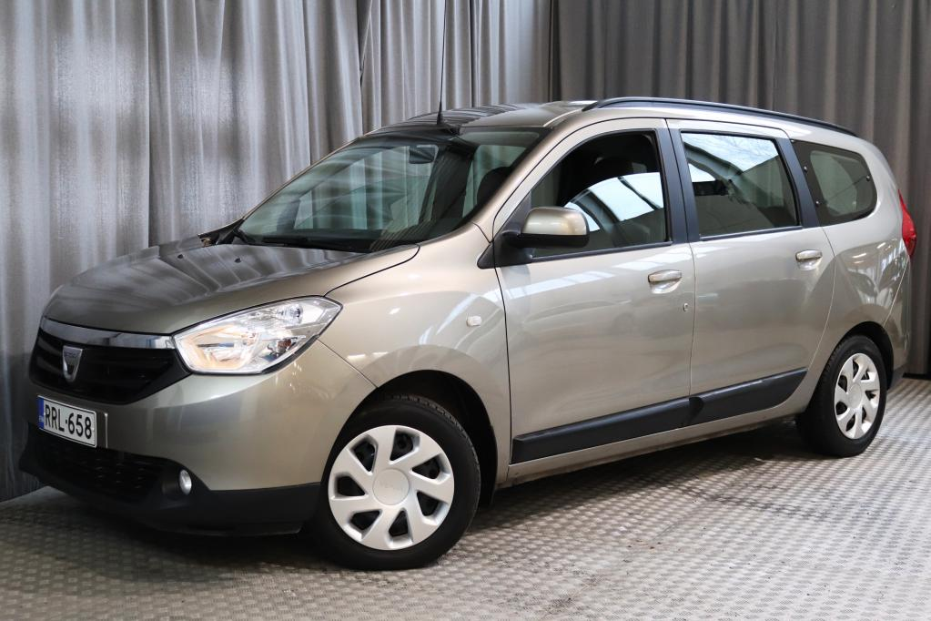 Dacia Lodgy dCi 110 7p Laureate,  1-OMISTAJA,  7-PAIKKAINEN!