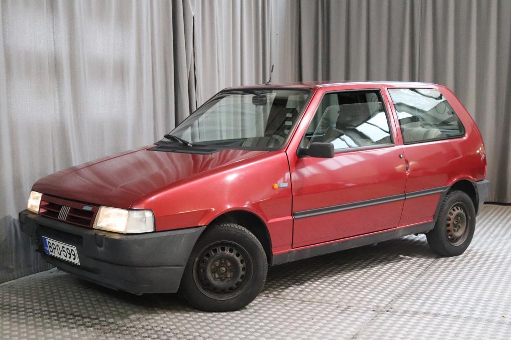 Fiat Uno 1, 1 i.e. S 3d,  VÄHÄN AJETTU,  SEUR. KATS. 6/2020!