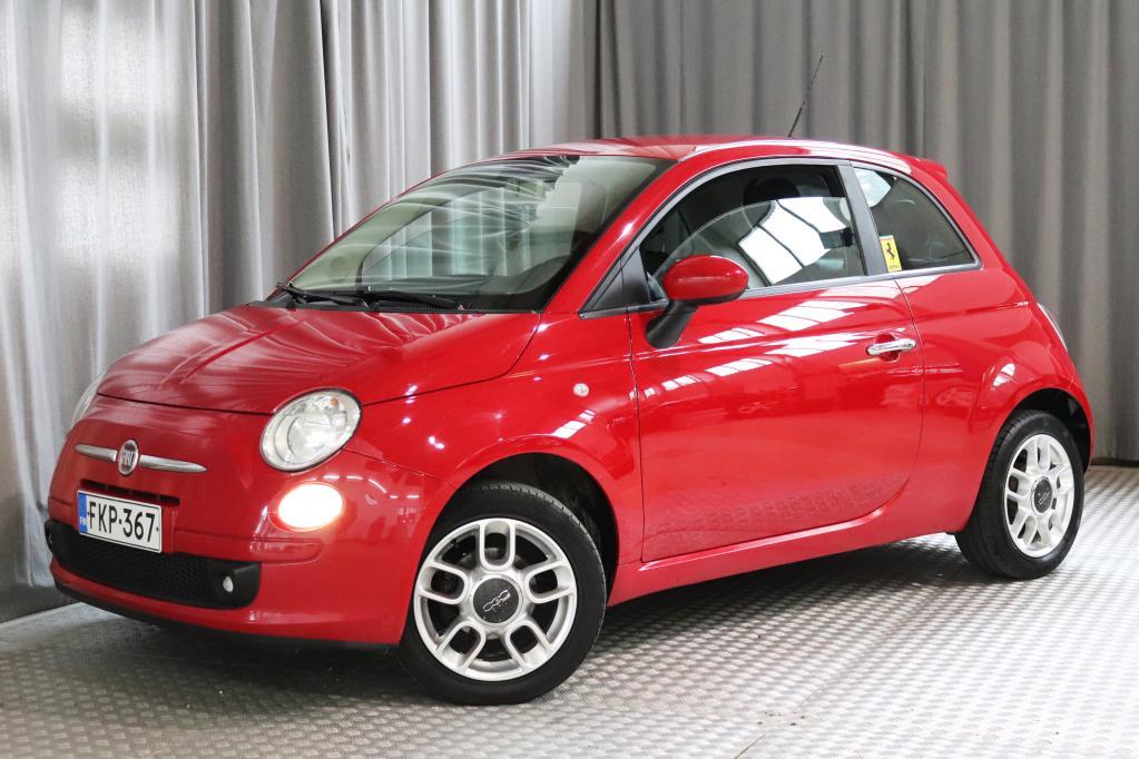Fiat 500 1, 2 Sport,  SPORTTIPENKIT,  OSANAHAT YMS!