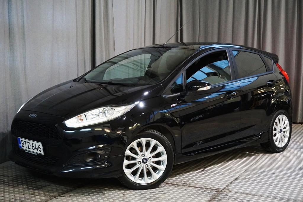 Ford Fiesta 1, 0 EcoBoost 140hv Start/Stop M5 ST-line,  1-OMISTAJA,  MERKKIHUOLLETTU!